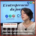 Avec le G20 des entrepreneurs, «j'ai démythifié la vision du chef d'entreprise que j'avais», rapporte Pauline Eveno (Syos)