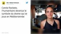 Sea-Watch : L'Allemagne veut la libération de Carola Rackete, la capitaine du navire humanitaire