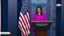 Report: Sarah Sanders To Write Book About Her Time In Trump Administration