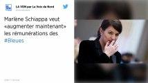 Équipe de France féminine : Marlène Schiappa plaide pour augmenter les rémunérations des Bleues