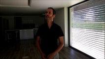 Mathieu Allard, agent immobilier présente une maison ossature bois et paille à Beure