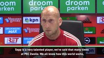 Stam hopes van den Berg will be a success at Liverpool