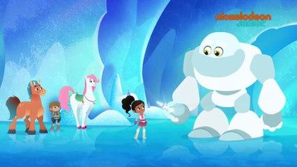 Nella Princesse Chevalier   L'abominable bonhomme des neiges   NICKELODEON JUNIOR