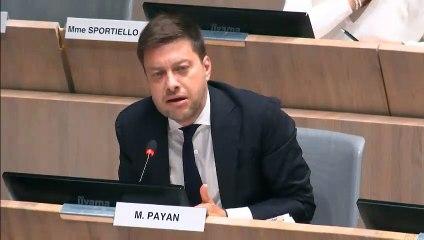Benoît PAYAN dénonce l'exonération de la taxe locale pour la publicité en faveur de CMA CM