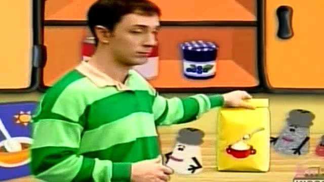 Blues Clues Season 3 Episode 10 - Anatomy!