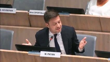 Benoît PAYAN dénonce les inégalités du compte administratif 2019