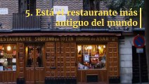 12 curiosidades de España