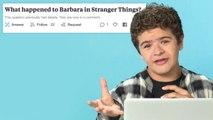 Stranger Things' Gaten Matarazzo Goes Undercover on Reddit, YouTube and Twitter