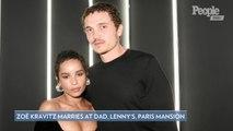 Zoë Kravitz Gets Married to Karl Glusman at Her Dad Lenny Kravitz's Paris Home
