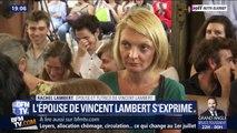 """Rachel Lambert: """"Je garde toujours l'espoir que Vincent puisse être entendu"""""""