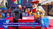 'Toy Story 4' Tops Weekend Box Office for Second Straight Week