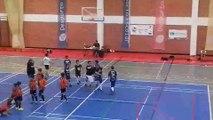 Final de Benjamins entre a Torregela Futsal e o Castra Caecilia.