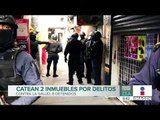 Catean 2 inmuebles por delitos contra la salud en la Ciudad de México | Noticias con Francisco Zea