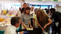 DNA - Nicolas Sarkozy à Strasbourg pour dédicacer son livre 'Passions' (lundi 1er juillet 2019)