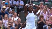 Wimbledon : Gauff, 15 ans, crée la sensation contre Venus Williams