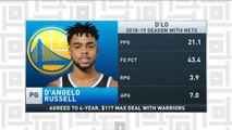 Tiki and Tierney: Is D'Angelo Russell a good fit for the Warriors?