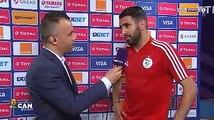 """Mahrez : """"On mérite d'être 1er"""""""