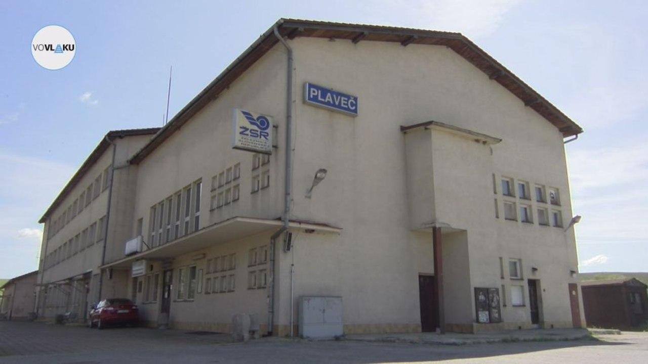 UNIKÁTNY VLAKOVÝ VIDEOPROJEKT: Železničná stanica Plaveč