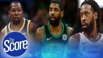 Kevin Durant and Kyrie Irving Join Forces with Brooklyn Nets | The Score