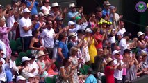 Highlights from the opening day of Wimbledon
