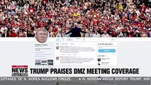 "Trump tweets it was great call on Kim Jong-un to have ""very well covered meeting"" at DMZ"