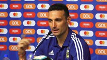 Argentina talk ahead of Copa America semi-final against Brazil
