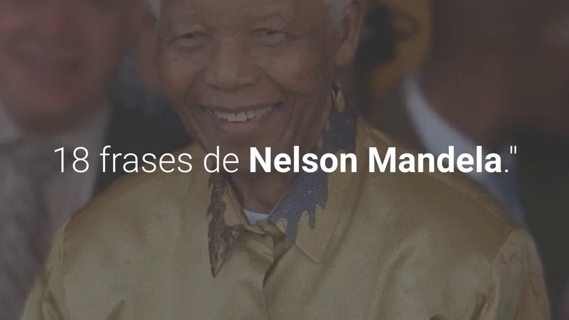18 Frases De Nelson Mandela