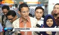 """Klarifikasi """"Ucapan Selamat Budaya Barat"""", Sandiaga Sebut Sudah Beri Selamat pada Jokowi"""