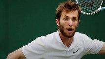 """Wimbledon 2019 - Wimbledon 2019 - Corentin Moutet a renversé Grigor Dimitrov : """"Énorme, non ! Je peux faire mieux"""""""