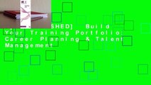 [MOST WISHED]  Build Your Training Portfolio: Career Planning & Talent Management