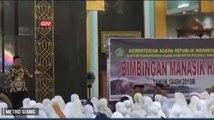 Jemaah Calhaj Ikuti Manasik Haji