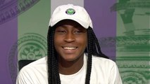 Wimbledon 2019 - Cori Gauff, only 15 years old, writes History !