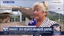 """Haute-Savoie: la maire de Doussard décrit un orage """"très très violent"""""""