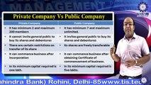 Dr. VARUN KUMAR || Types of Company || MBA || TIAS || TECNIA TV