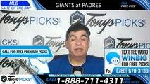 Giants vs Padres MLB Pick 7/2/2019