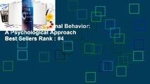 Full E-book  Criminal Behavior: A Psychological Approach  Best Sellers Rank : #4