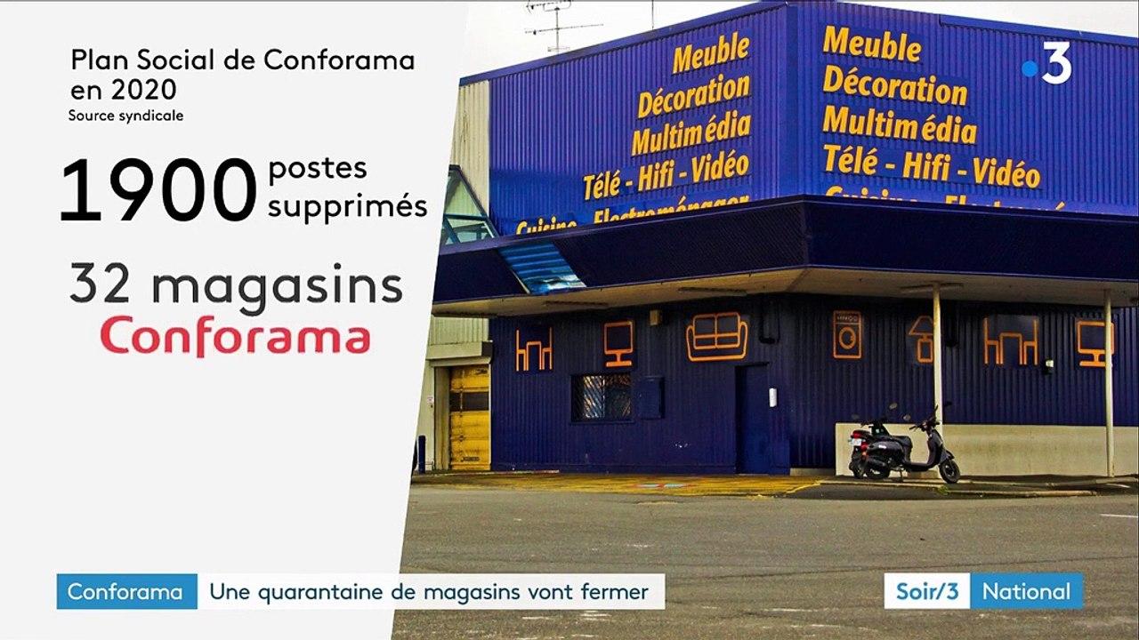 Conforama Supprime 1 900 Postes Et Ferme 42 Magasins