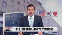 U.S. State Department stresses importance of close ties among U.S., S. Korea and Japan