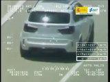 VÍDEO: Pegasus caza a este BMW X5 M a 223 km/h en la AP7