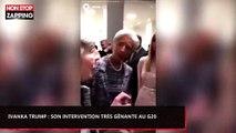 Ivanka Trump : Son intervention très gênante avec des chefs d'État au G20 (Vidéo)