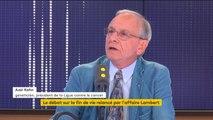 """""""Le cas Vincent Lambert est tragique, c'est une situation inextricable"""", selon Axel Kahn"""