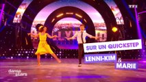 "DALS S08 - Lenni-Kim et Marie Denigot dansent un quickstep sur ""Another Day of sun"" (La La Land)"