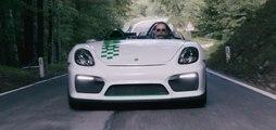 VÍDEO: el Porsche Boxster Bergspyder se encuentra con el original 909 Bergspyder