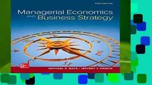 Full E-book  Managerial Economics   Business Strategy (Mcgraw-hill Series Economics)  Review