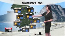 Korea bracing for hotter weather tomorrow _ 070219