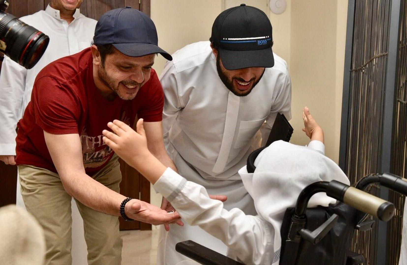 محمد هنيدي ي حقق حلم طفل سعودي ما علاقة تركي آل الشيخ فيديو