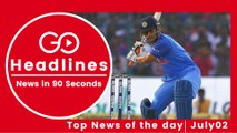Top News Headlines of the Hour (02 July, 5:30 PM)