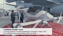 Aim for the skies: Airbus plans flying taxis for 2024 Paris Olympics