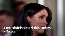 Le portrait de Meghan Markle, duchesse de Sussex