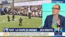 La France, favorite de la Coupe du monde de foot... des robots